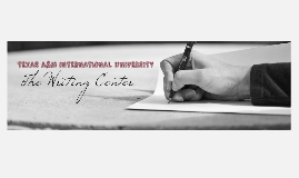 Writing Center Orientation