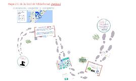 Mapa 2.0 de la Red de Bibliotecas JuriRed: comunicar, cooperar y compartir