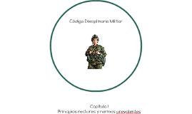 Código Disciplinario Militar