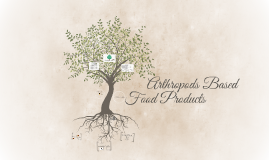 Arthropods-Based Food Products