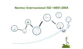 Iso 14001:2004 generalidades