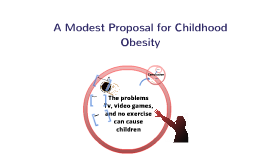 A Modest Proposal for Childhood Obesity