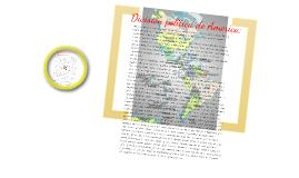 Copy of El continente americano, aspectos generales y su división política:
