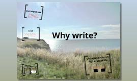 How I use Writing
