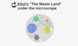 "Eliot's ""The Waste Land"" under the microscope"