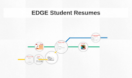 Resume for EDGE Students