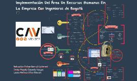Implementación Del Área De Recursos Humanos En La Empresa Ca