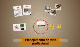 Planejamento de vida profissional
