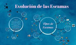 Copy of Evolución de las Escamas