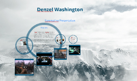 Copy of Denzel Washington