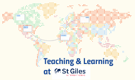 Teaching and Learning at St Giles International