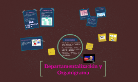 Copy of Departamentalización y Organigrama