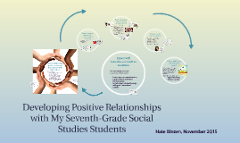 Developing A Positive Relationship with Students