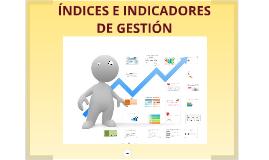 Indicadores e Indices