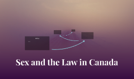 Sex and the Law in Canada