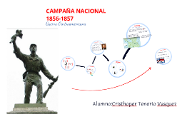 Copy of CAMPAÑA NACIONAL 1856-1857