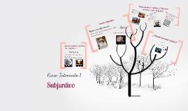 Construimos el árbol del subjuntivo