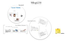 Mktg6230 Overview