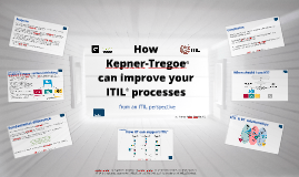 How Kepner Tregoe can improve your ITIL processes