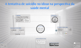 A tentativa de suicídio no idoso na perspectiva da saúde men