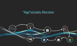 """""""App""""solutely Marzano"""