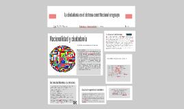 Copy of La ciudadanía en el sistema constitucional uruguayo