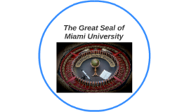 The Great Seal of Miami University