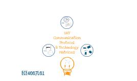 UAV Communication Protocol & Technology Matrices