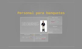 Personal para banquetes