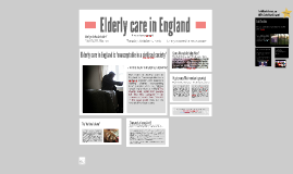 Elderly care in England