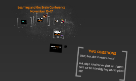 Learning and the Brain Conference