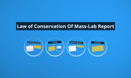 law of conservation of mass lab pdf