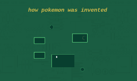 how pokemon was invented