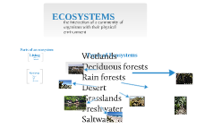 Copy of Ecosystems
