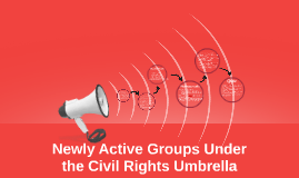 Newly Active Groups Under the Civil Rights Movement