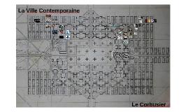 Copy of La Ville Contemporaine