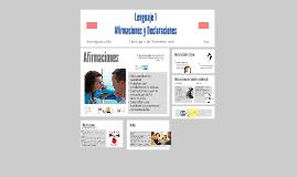 Lenguaje 1 Afirmaciones y declaraciones