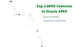 A dozen things to do with Oracle APEX