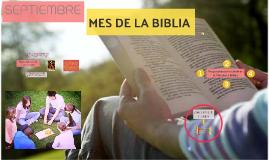 MES DE LA BIBLIA 2016