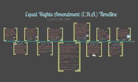 Equal Rights Amendment Timeline