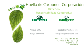 Copy of Huella de Carbono – Corporación