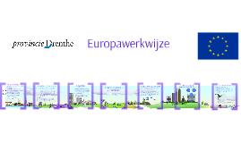 Europawerkwijze Provincie Drenthe