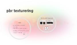 pbr texturering