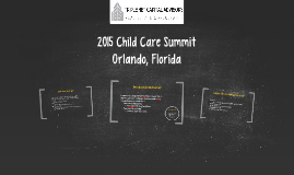 2015 Child Care Summit