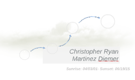 Christopher Ryan Martinez Diemer