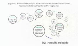 Copy of Cognitive-Behavioral Therapy vs. Psychodynamic Therapy for V