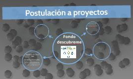 Postulacion a proyectos