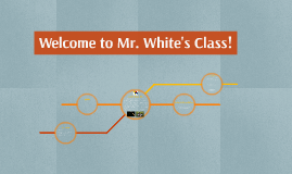 Welcome to Mr. White's Class!