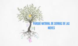 PARQUE NATURAL DE SIERRAS DE LAS NIEVES
