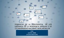 DINAMICAS DE LA CONVIVENCIA  DE LOS USURAIOS DE LA RESIDENCI